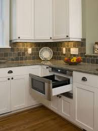 white kitchen cabinets with slate countertops hemingway s cottage eclectic kitchen eclectic kitchen