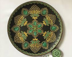 Emerald Home Decor Mandala Home Decor Etsy