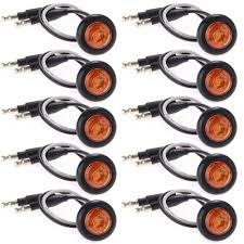 led side marker lights 10x waterproof amber led side marker light l for car truck boat