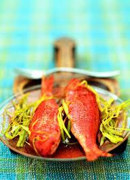 cuisiner rouget recette rougets tandoori