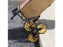 massage table cart for stairs upcart the all terrain stair climbing folding up cart newegg ca