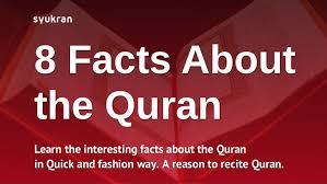 8 need to facts about the quran