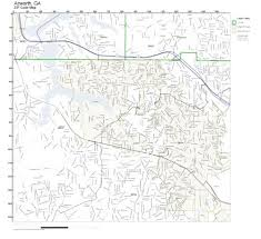 ga zip code map zip code wall map of acworth ga zip code map laminated