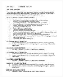 programmer analyst job description job summary best solutions of