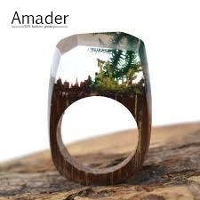 cadeau en bois pour femme en bois anneaux bijoux achetez des lots à petit prix en bois