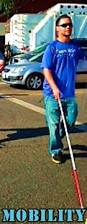 Mobility Canes For The Blind Mobility Instruction Cane Travel Street Crossings Techniques