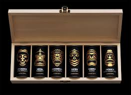 coffee gift sets paradise gourmet coffee the dieline packaging