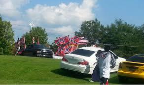 Confederate Flag Pickup Truck Rebel Flag Fans Face Gang Charge For Crashing Black Kid U0027s Party