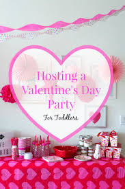Valentine S Day Party Decor by Hosting A Valentine U0027s Day Party For Toddlers U2013 Casa De Fallon