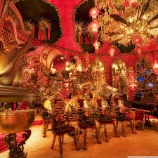 house on the rock the red room hd desktop wallpaper widescreen