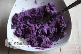 membuat mie warna ungu resep roti manis ubi jalar ungu just try taste