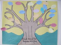 a muslim homeschool good deed tree