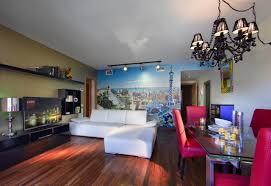 Wohnzimmerm El Ums Eck Ferienwohnung Castro Exclusive Telégraf Spanien Barcelona
