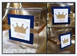 royal prince baby shower favors prince royal baby shower favor boxes baby shower ideas themes