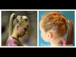 gymnastics picture hair style gymnastics hairstyles nastia liukin inspired french braid