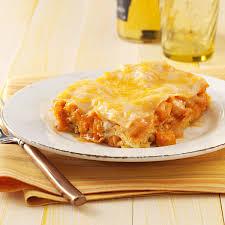 thanksgiving lasagna recipe mexican chicken lasagna recipe taste of home