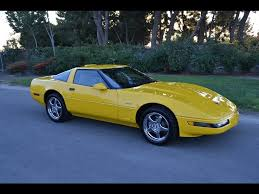 corvette c4 zr1 for sale sold 1995 yellow zr1 for sale by corvette mike anaheim california