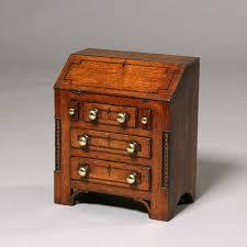 mini bureau tim bowen antiques carmarthenshire wales miniature bureau