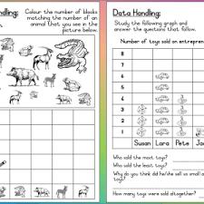 Worksheets Grade 3 Mathematics Grade 3 Data Handling Worksheet Teacha