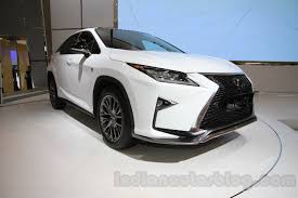 car lexus 2016 2016 lexus rx series giias 2015 live