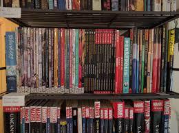 bookshelves of the bachelor pad album on imgur