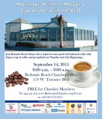 Halloween Events Redondo Beach Visitors Bureau Event Cancelled Mornings With The Mayor U0026 Cup Of Joe With The