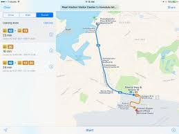 Honolulu Airport Map Apple Maps Expands Transit Directions To Honolulu U0026 Kansas City Mo