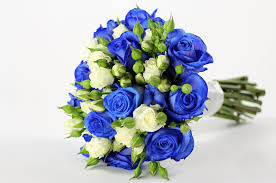 blue flowers for wedding blue wedding bouquet flowers wedding corners