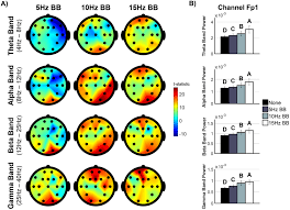 the effect of binaural beats on verbal working memory and cortical