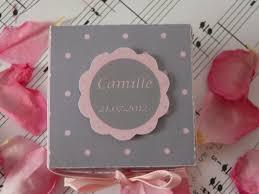 deco table rose et gris ballotins gris et roses à pois coeur d u0027ange