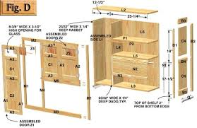 Kitchen Cabinet Drawer Construction Hoosier Cabinet Plans Llc
