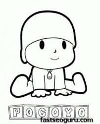 29 colorear pocoyo images drawings birthday