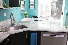white quartzite countertops kitchen design inspiration
