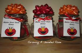 elmo party favors make your own elmo party favors growing a jeweled