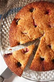 cherry on a cake strawbwerry buttermilk cake smitten kitchen