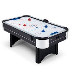 air hockey table reviews harvard 7 foot air hockey table walmart com