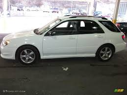 white subaru hatchback 2006 aspen white subaru impreza 2 5i wagon 42326807 photo 8
