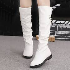 s shoes nz fashion flat heel toe knee high boots