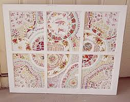 custom made mosiac wall art wall hanging stained glass cut broken
