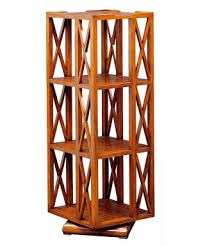revolving traditional handmade english leather top bookcase