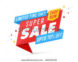 free vector origami sale ribbons free vector stock