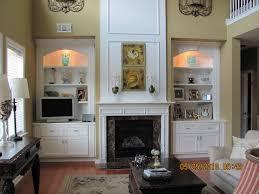 simple design built in shelves around fireplace ideas diy