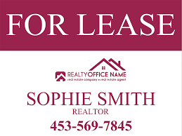 real estate yard sign template realtor yard sign template