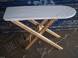 pottery barn kids wooden wood kitchen furniture ironing board iron