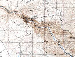 Canyon City Colorado Map by Examples Of Topographic Maps
