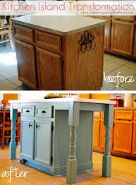 a kitchen island i should be mopping the floor kitchen island transformation