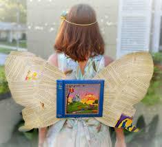 book nerds er faeries unite diy book fairy costume library
