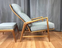 Reclining Lounge Chair Ib Kofod Larsen Reclining Lounge Chair And Ottoman For Selig