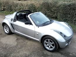 smart roadster speedsilver semi auto 700cc fully convertible 2004
