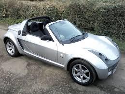 smart roadster speedsilver semi auto 700cc fully convertible 2004